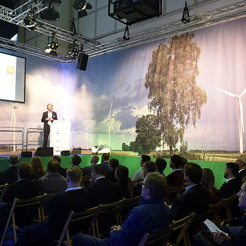 WindEnergy Hamburg Speakers' Corner