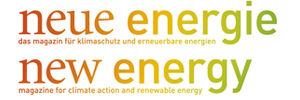 neue energie / new energy / Bundesverband WindEnergie Logo